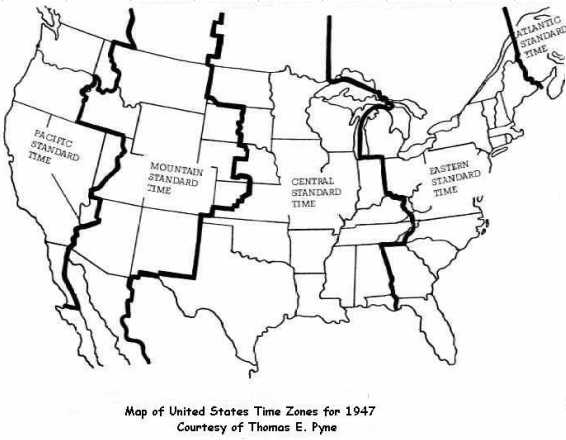 Time Zone Map for Tennessee  |Chattanooga Time Zones